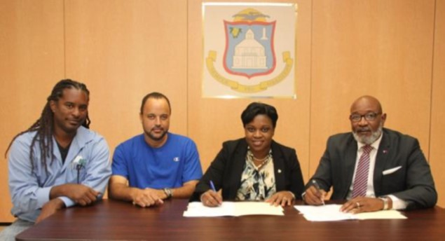 NRPB signs US $ 550.000 contract for repairs to damaged social homes
