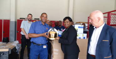 Fire Department receives Emergency Equipment from Trust Fund