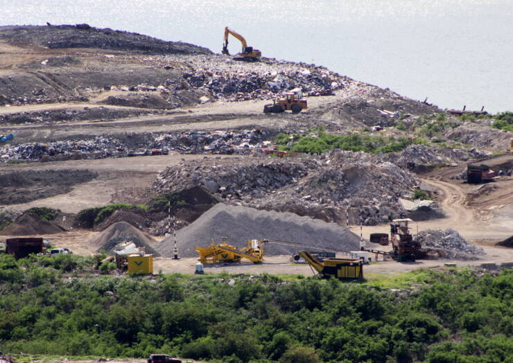 NRPB provides specialized equipment to improve Landfill management