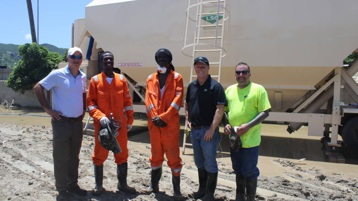 NRPB provides training on new landfill cover material