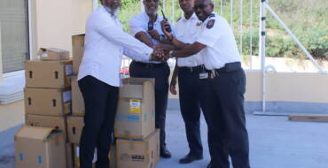 Fire Department receives communication equipment from Trust Fund