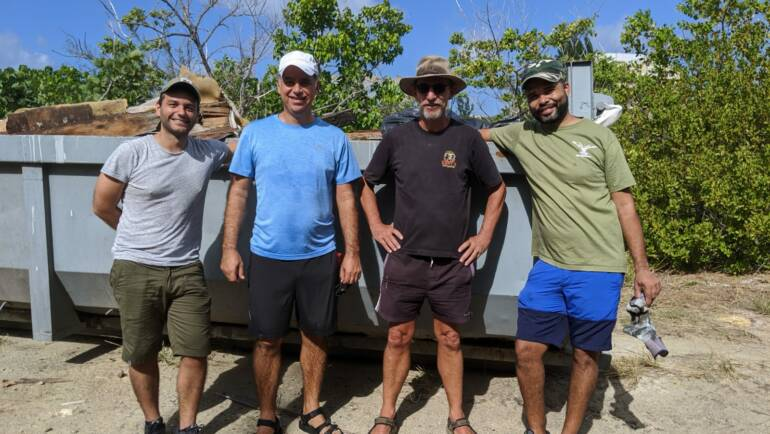 NRPB joins EPIC and Nature Foundation clean-up of Mullet Pond
