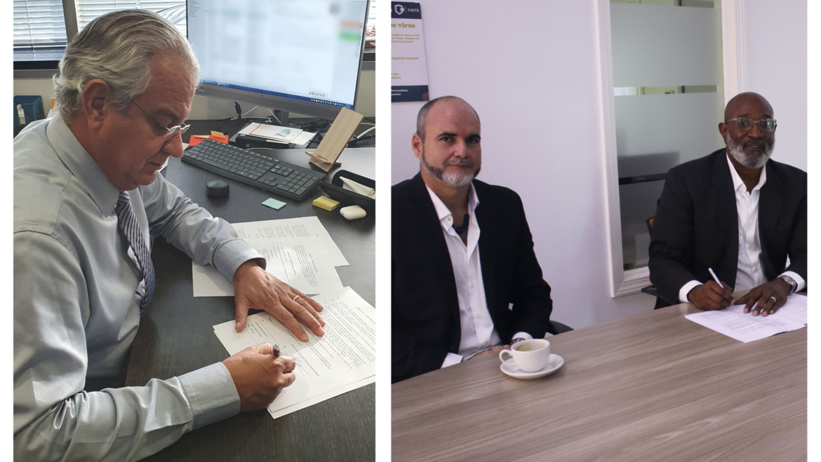 Banco di Caribe has joined forces with the NRPB on theEnterprise Support Project