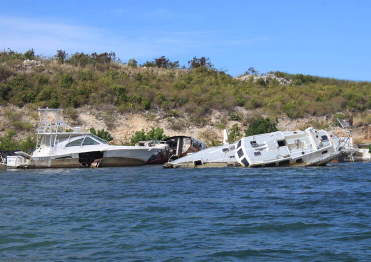 Simpson Bay Lagoon Cleanup Project starts