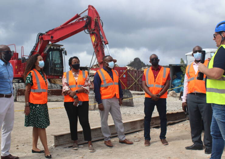 Council of Ministers tour Trust Fund project sites