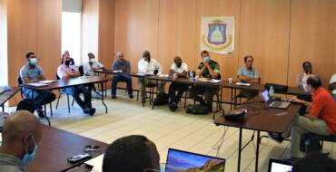 Training sessions mark the end of LiDAR mapping activity